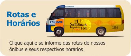 click aqui e se informe das rotas de nossos onibus e seus respectivos horarios